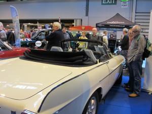 Convertible Volvo 1800 S